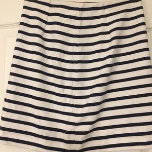Jack wills striped cotton skirt size US 6